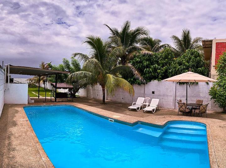 Hermosa casa de Playa ¨La Veranera¨