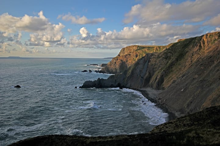 The view from Sharpnose Point