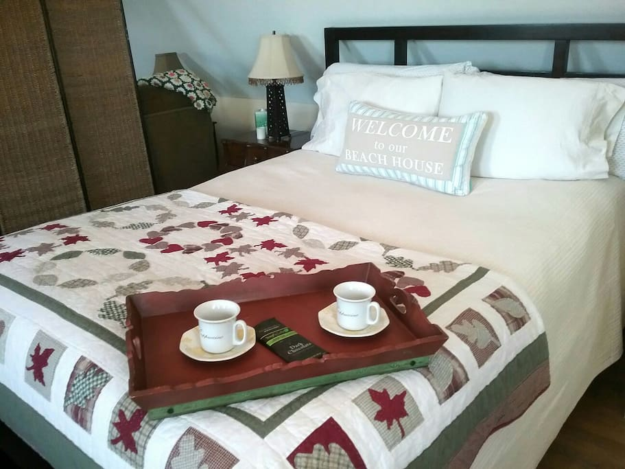 Comfortable,  new queen bed!