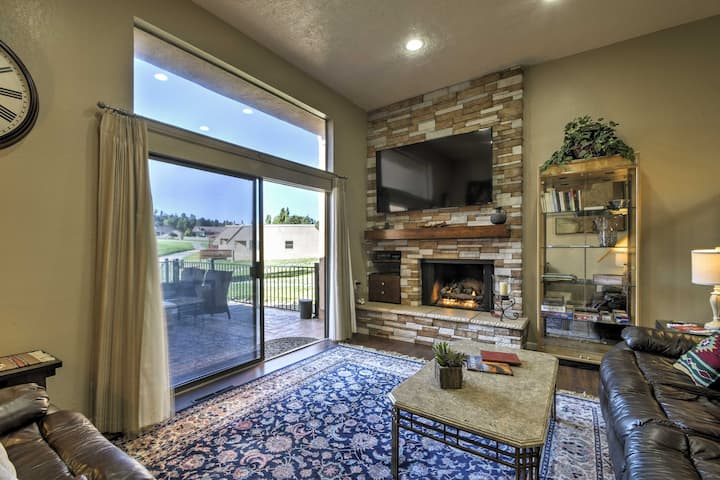 Chic Ruidoso Golf Condo-Patio, Mtn View & Fire Pit