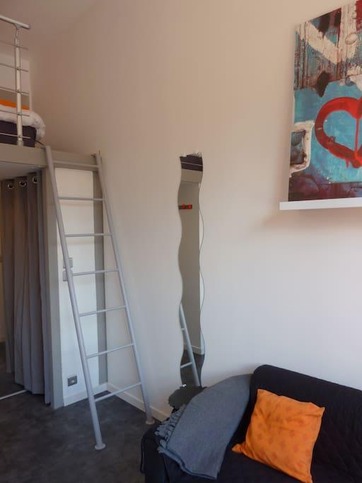 Studio neuf mini mais cosy parking priv for Studio neuf