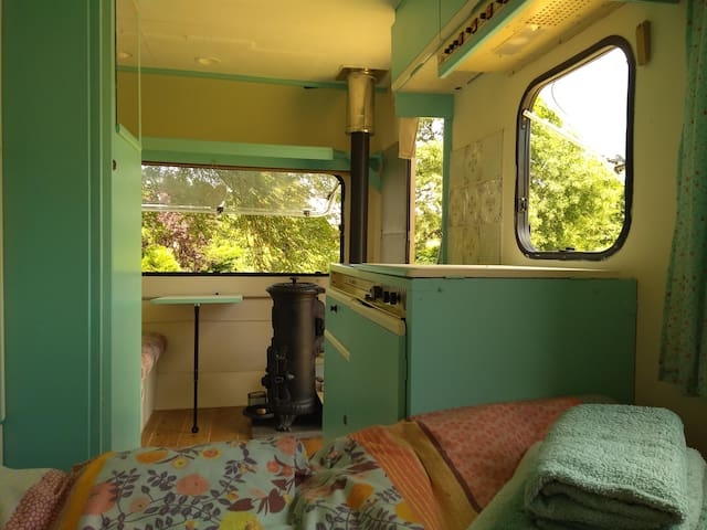 Frannie: An Off-Grid Caravan In French Countryside