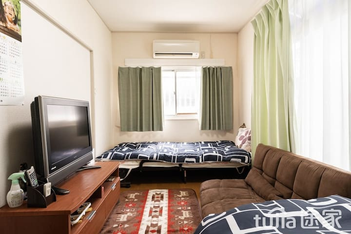 JK HOUSE 2/Near Tennnoji-Namba.4min from station.