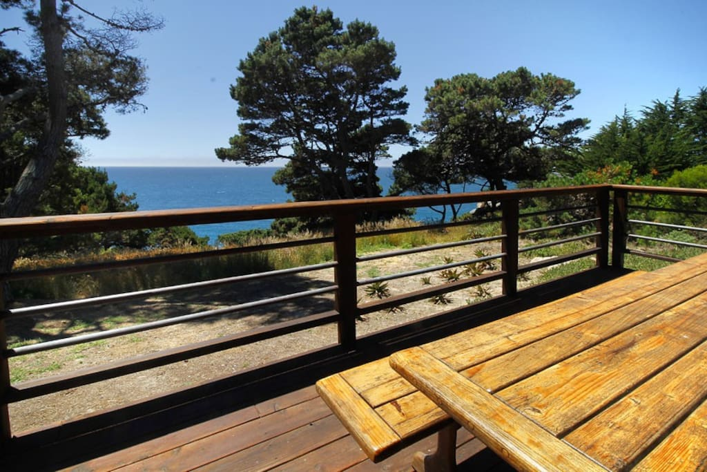 Ocean Bluff Serenity Deck with Table to Ocean View