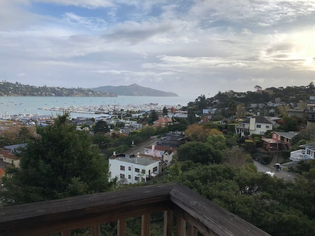 Panoramic Views of Beautiful Sausalito