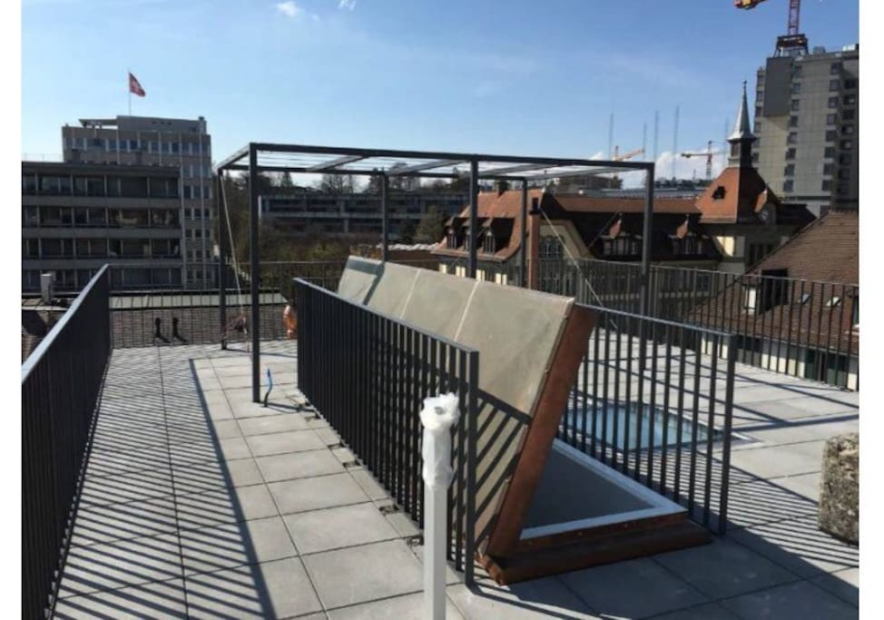 Private Rooftopterrasse