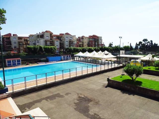 Giardini Naxos-studio flat 5 mins from the beach - Porticato - Apartment
