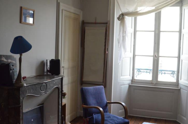 Très belle et grande chambre - Rennes - Pis
