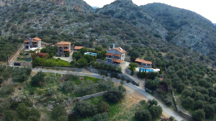 3 Stonebuilt Villas with Panoramic view - Lasithi - Villa