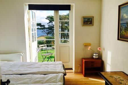 Lyst og venligt Dobbeltværelse med panoramaudsigt