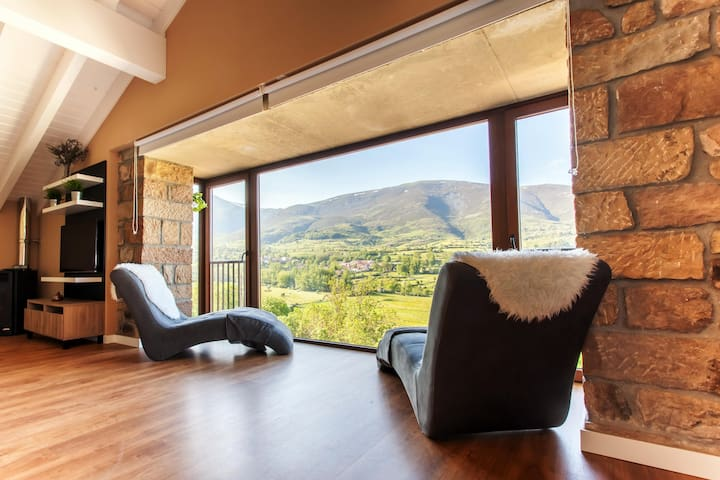 El Balcon de La Lomba (Apartamentos Rurales) - La Lomba - Haus