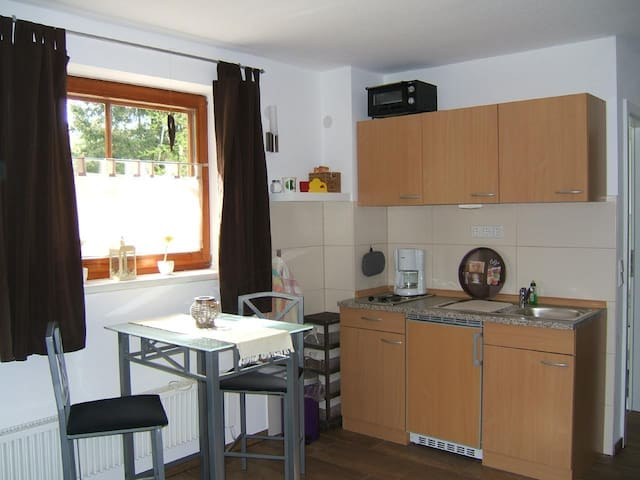 Apartment for two persons in the silver lake holiday park