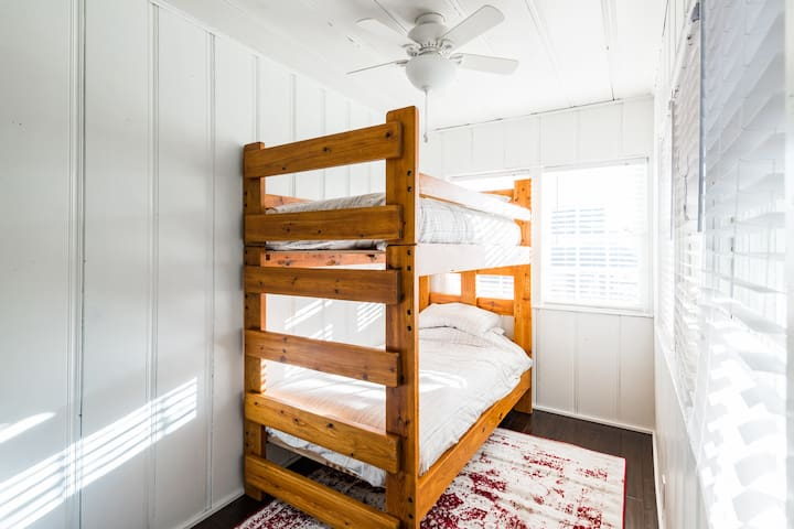 Bunk Beds in third bedroom.