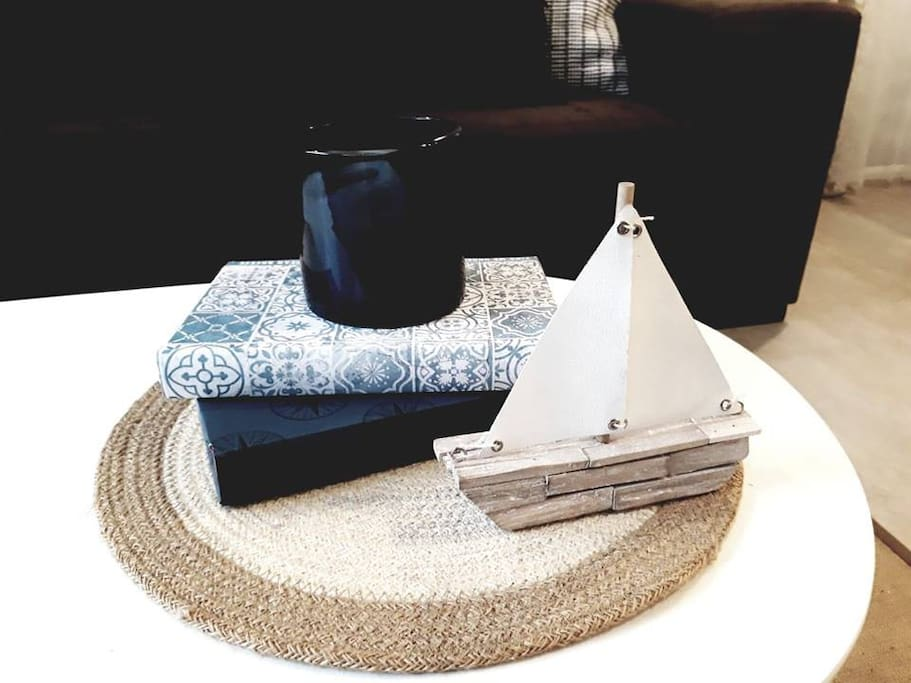 "Guests love our ""beach hygge"" decor"