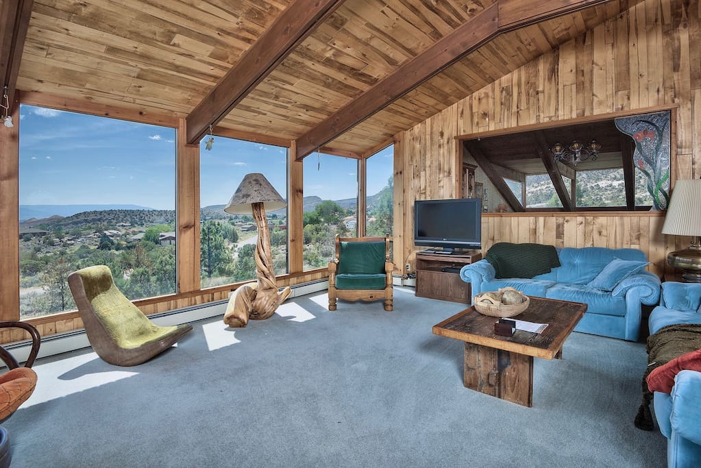 living room, overlooking the Grand Valley