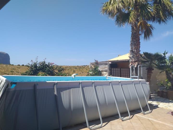 Il Rifugio, bellissimo monolocale con piscina