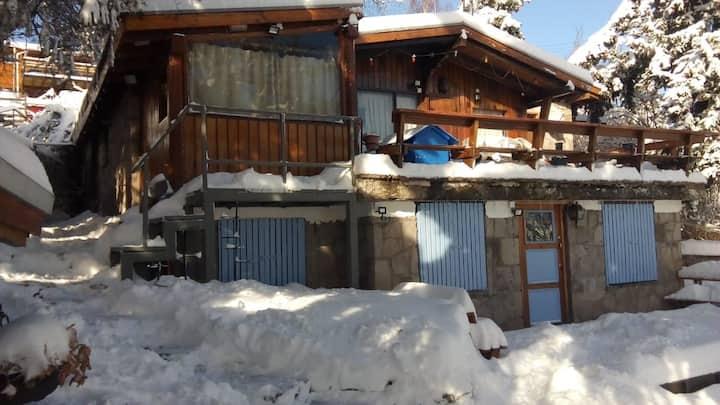 Farellones Bed & breakfast Verschneite Lodge