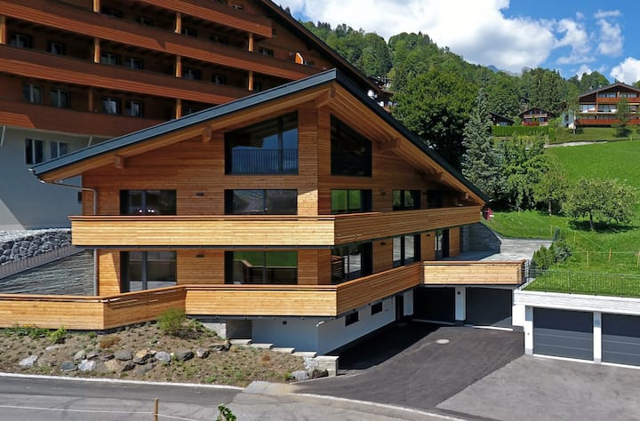 Chalet Isch with spa area