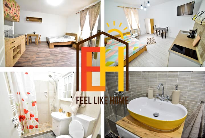☀ Feel like home in Sibiu-Central 2-bedroom Apt ☀