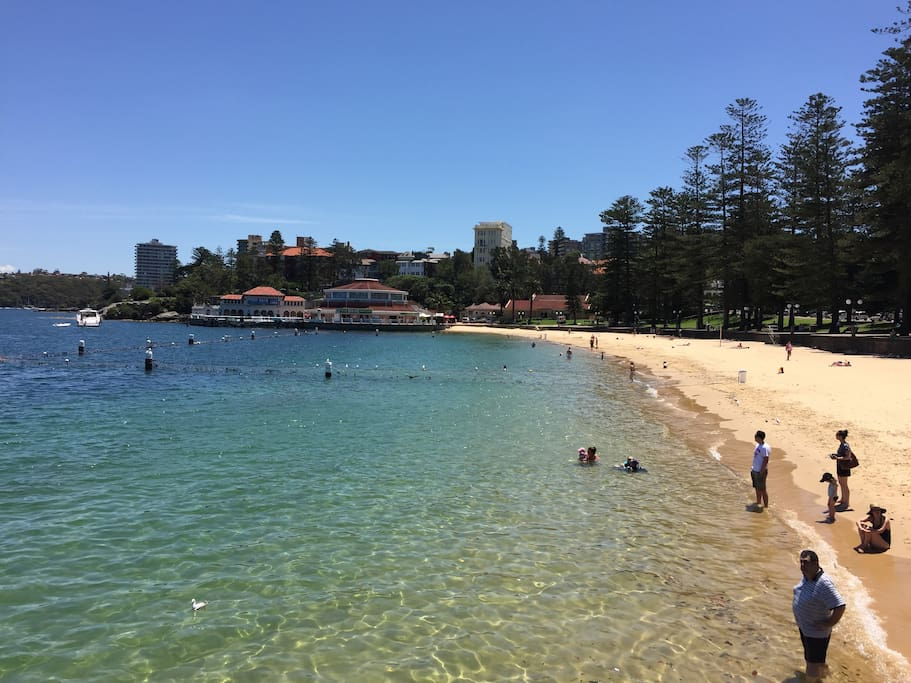 Manly Cove - Location shot