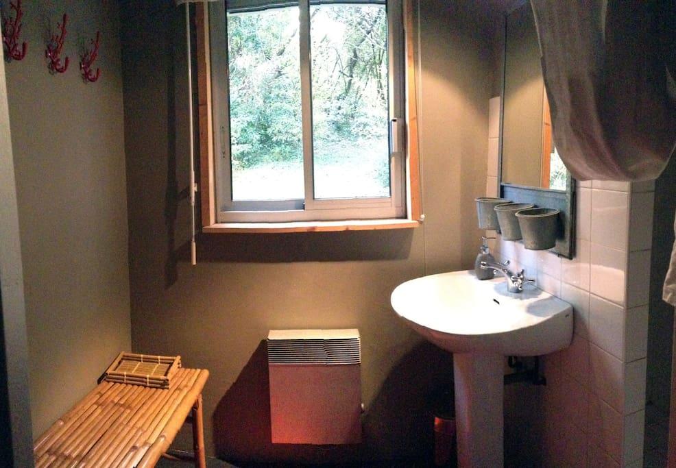 Salle de bains/douche