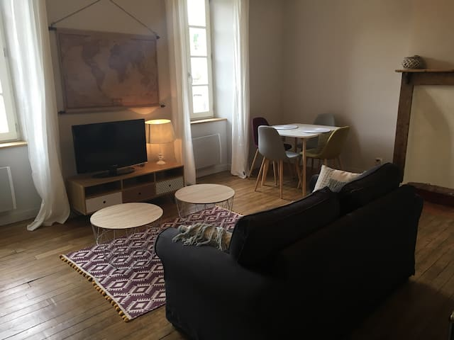 Appartement T2 48 m2 centre Aubusson 1 er étage