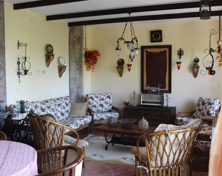Çeşme Ildırı-Well Decorated Villa close to Alaçatı