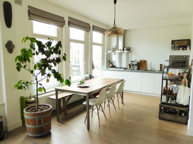Stylish apartment @ Vondelpark (with balcony) - Amsterdam - Apartment