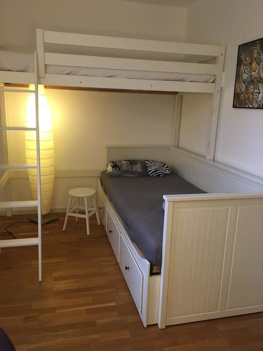 room with bunk bed (90 cm x 200 cm)