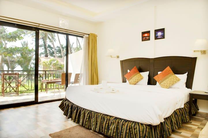 Deluxe1 Gardenview room on Ashwem beach