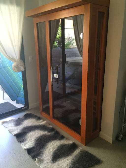 infra red sauna for two