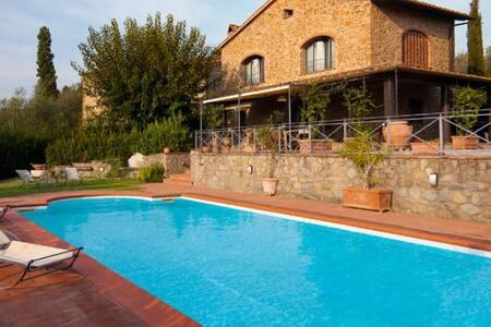 Elegant former hayloft, private garden and pool - Marcello - Villa