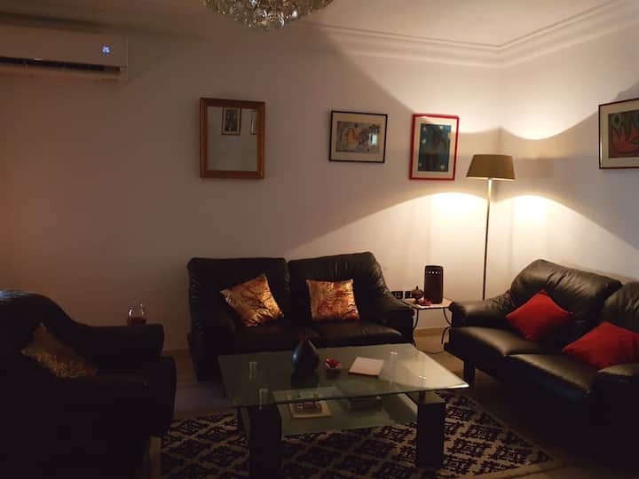 Comfy flat in laaouina 5 mins from AirPort