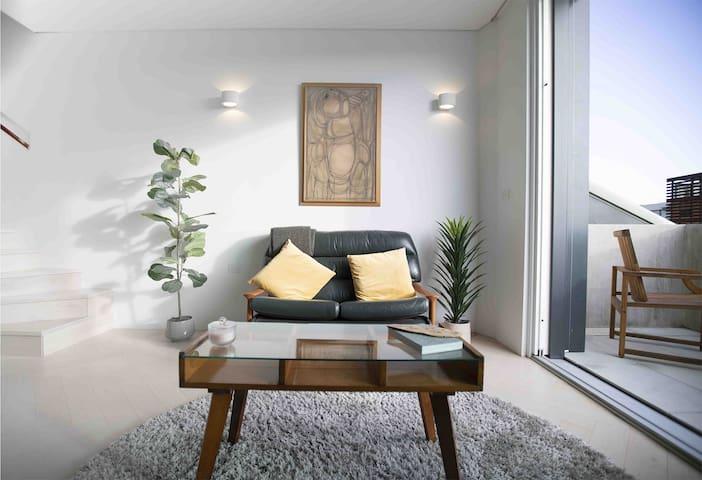 Bespoke Split Level Apartment Near Aus Tech Park