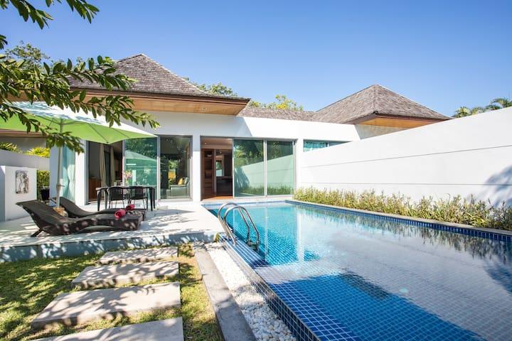 Design Boutique VillaⰊHuge Pool in Tropical Garden