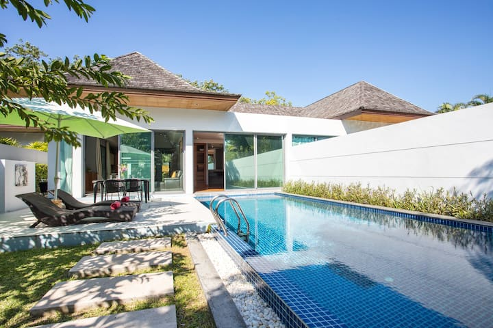 Design Boutique VillaⰊHuge Pool in Tropical Garden