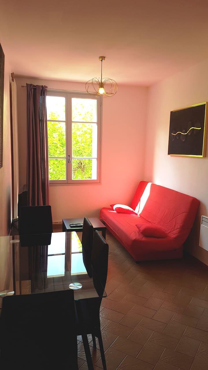 Appartement agréable au coeur du village