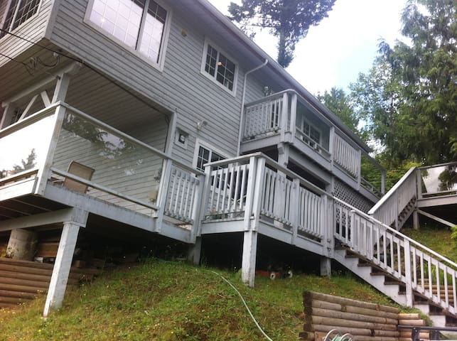 Spectacular View In The TreeTops! - Eagle Suite - Salt Spring Island - Apartment