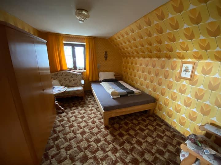 Zimmervermietung Hubenstein, Einzelzimmer