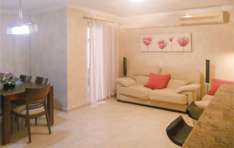 Holiday apartment with 2 bedrooms on 60m² in Bolnuevo