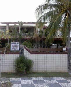 descanse num paraíso perto da praia - Lauro de Freitas - Maan sisään rakennettu talo