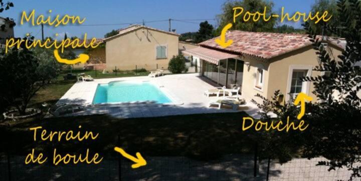 Louez cet été une villa avec piscine en Provence !
