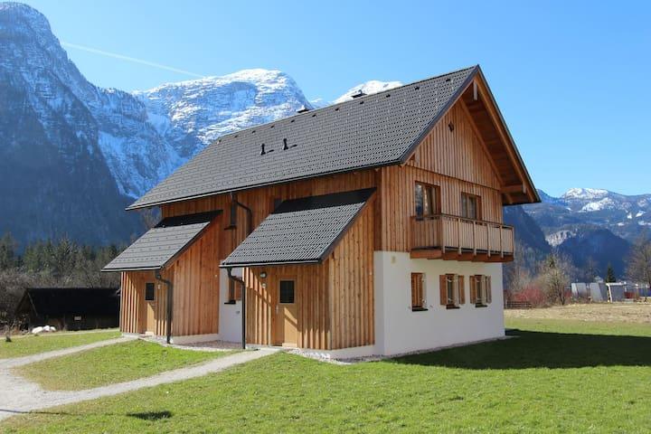 Casa de lujo en la ribera del Hallstttersee Obertraun