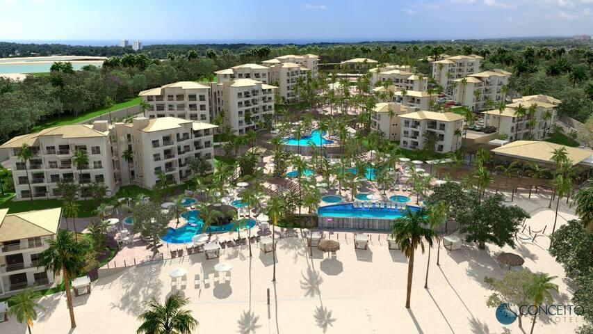 Ilhas do Lago: Resort Luxo Incrível até 8 pessoas