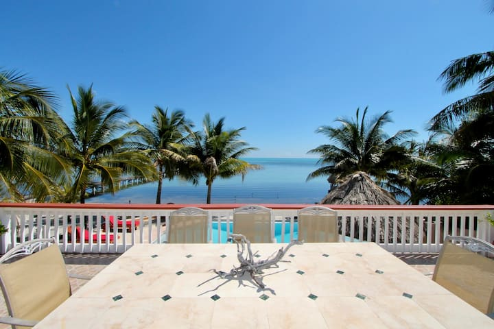 Beachfront4BR: private pool, hot tub, views, more!