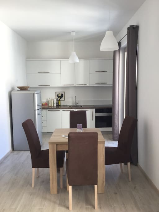 Modern full equipped kitchen