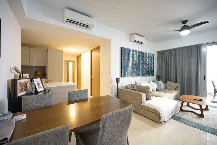 Beautiful large 1 bedroom apartment with balcony