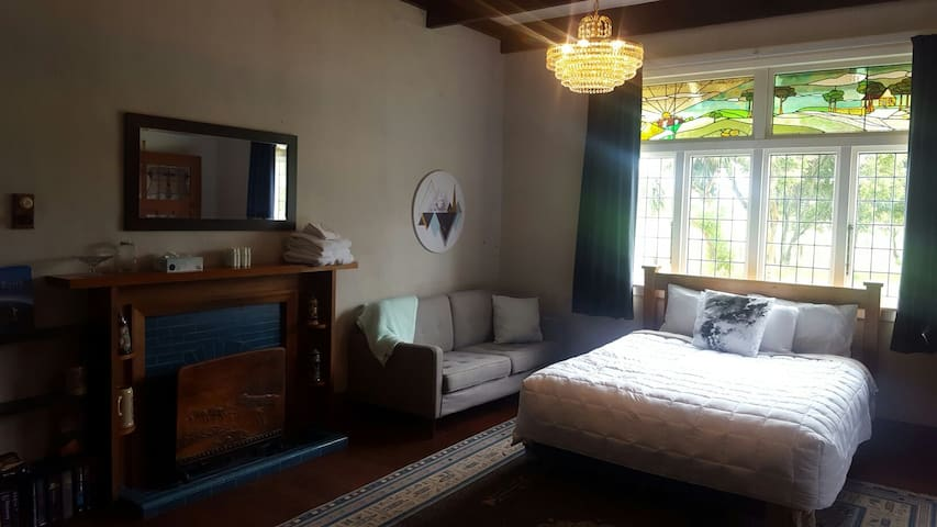 Rural Farm House, Huge Bedroom - Manakau - Huis