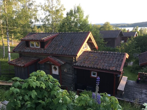 Gäststuga nära Siljan