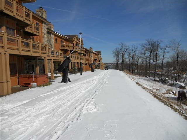 Luxury Ski in/out Townhouse in Seven Springs